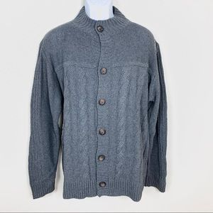 Coofandy Men's sweater Gray Pullover size XL